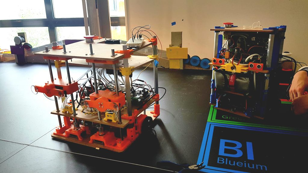 Robots AREM Coupe de France de Robotique