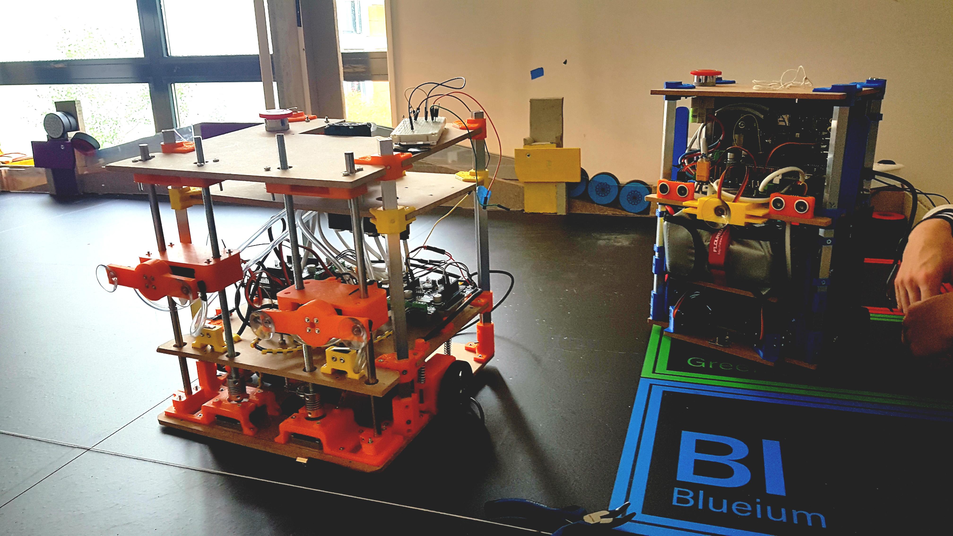 Robots AREM Coupe de France de Robotique